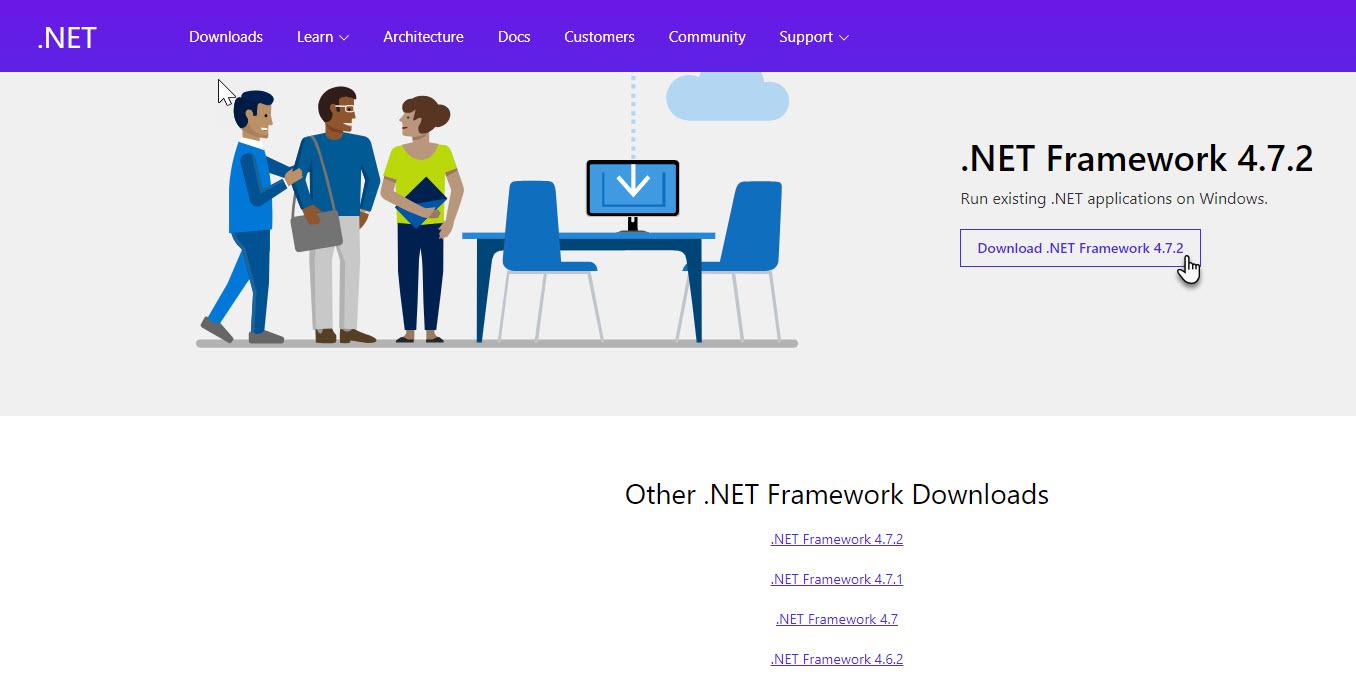 Install the Latest Version of the Microsoft .NET Framework
